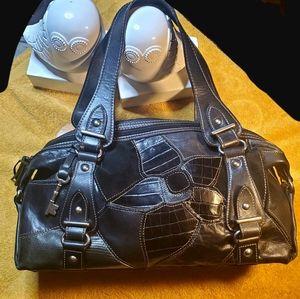 Fossil Vintage leather satchel 💓